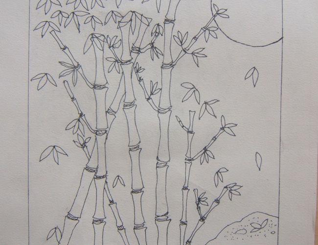 学生手绘作品
